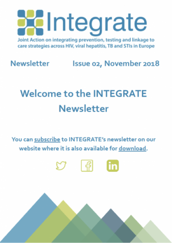INTEGRATE second Newsletter